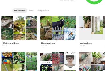 Garteneuphorie auf Pinterest